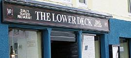 The Lower Deck Restaurant, Portree - Högländerna