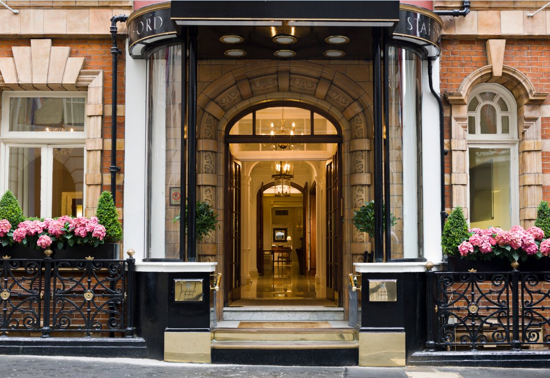 The Lyttelton Restaurant at the Stafford Hotel - London