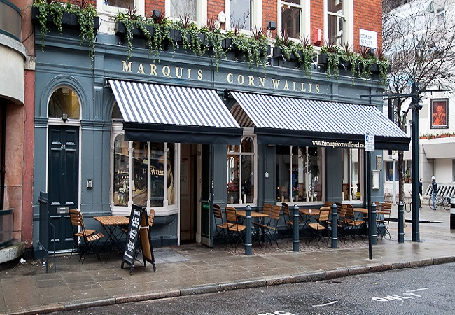 The Marquis Cornwallis - London