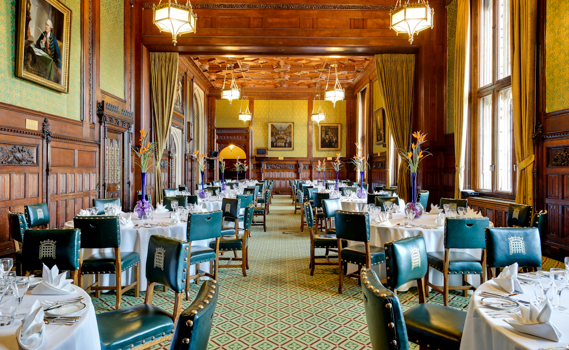 Reserve a table at The Members' Dining Room at the House of Commons