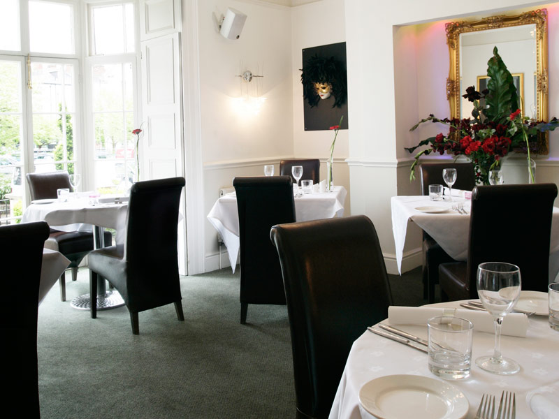 The Olive Tree Restaurant at Queens Court Hotel - Devon