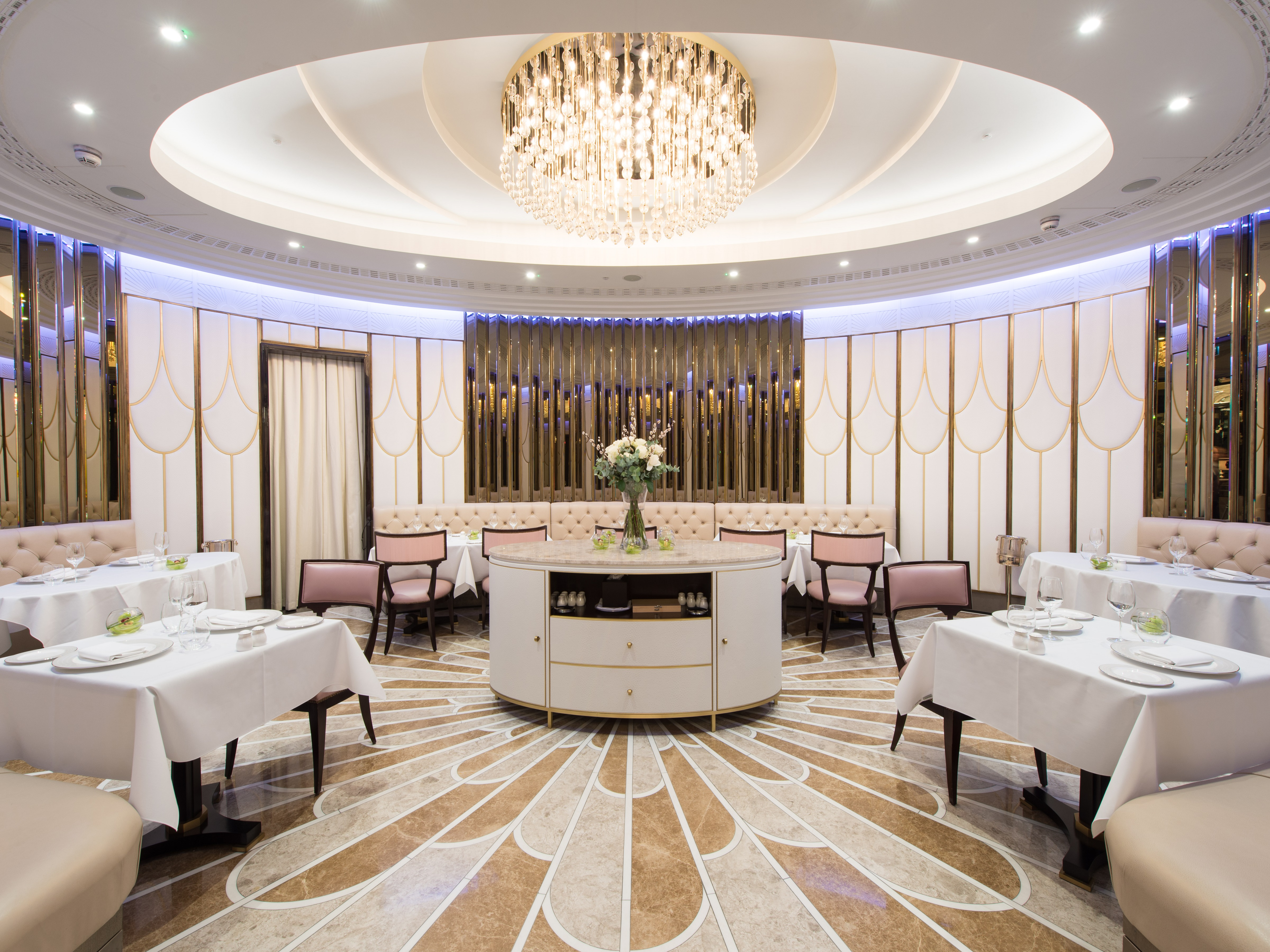 The Oval Restaurant At Wellesley Hotel Knightsbridge London Bookatable