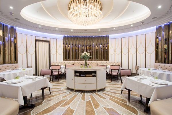 The Oval Restaurant at The Wellesley Hotel – Knightsbridge, London ...