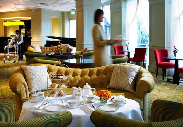 Afternoon tea with unlimited champagne £39 per person
