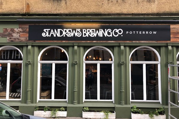 St Andrews Brewing Company - Potterrow - Edinburgh
