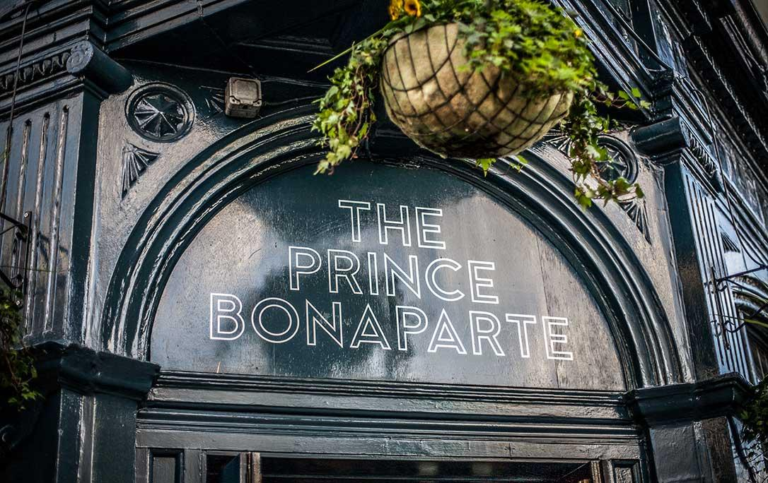 The Prince Bonaparte - London