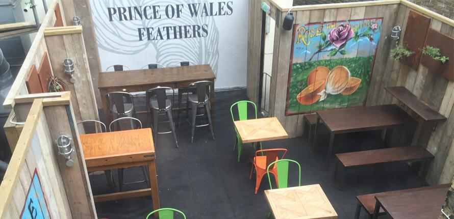 The Prince of Wales Feathers - London