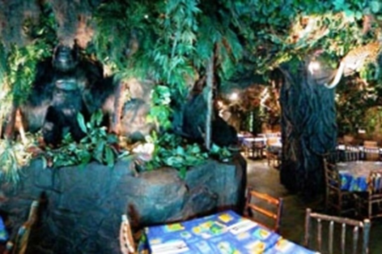 The Rainforest Cafe Menu London
