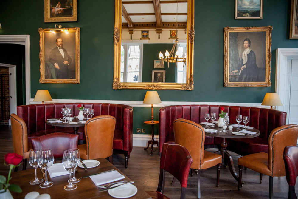 Acanthus Restaurant at Macdonald Randolph Hotel - Oxfordshire