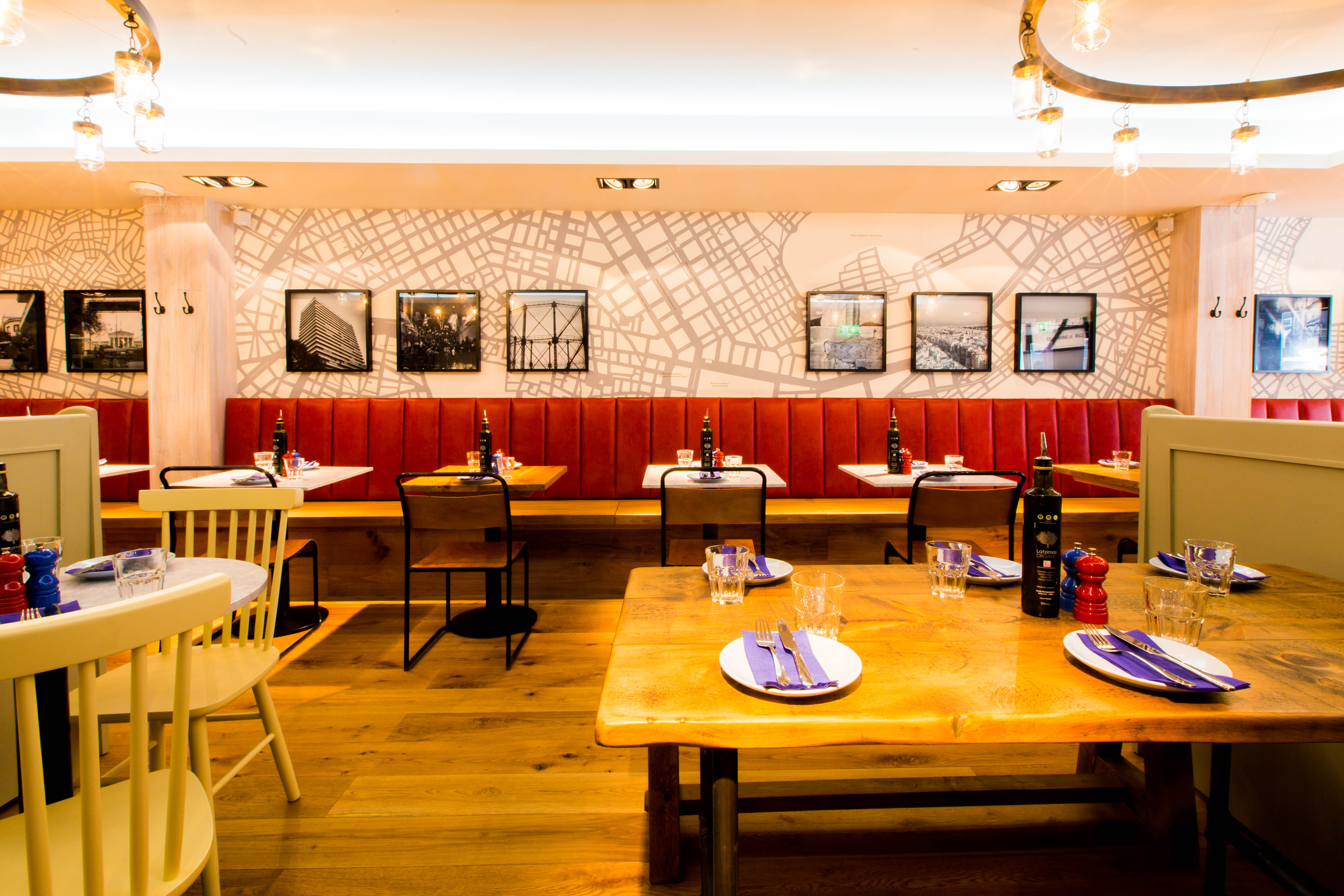 Reserve a table at The Real Greek - Soho