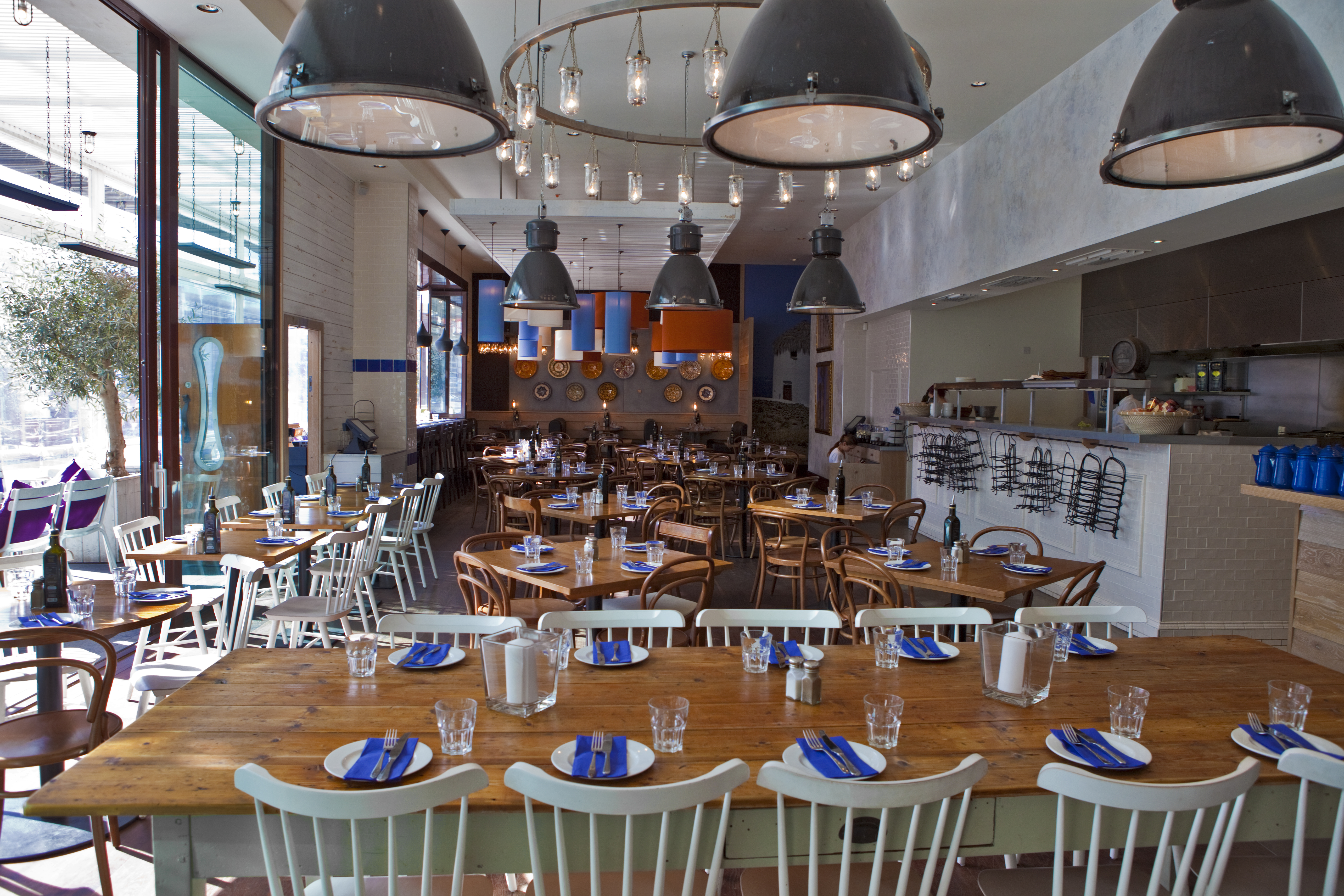Reserve a table at The Real Greek - Westfield Stratford City