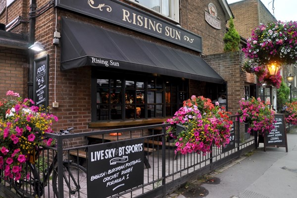 The Rising Sun - London