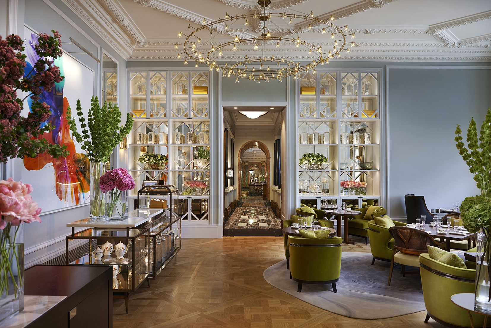 Reserve a table at The Rosebery at Mandarin Oriental Hotel