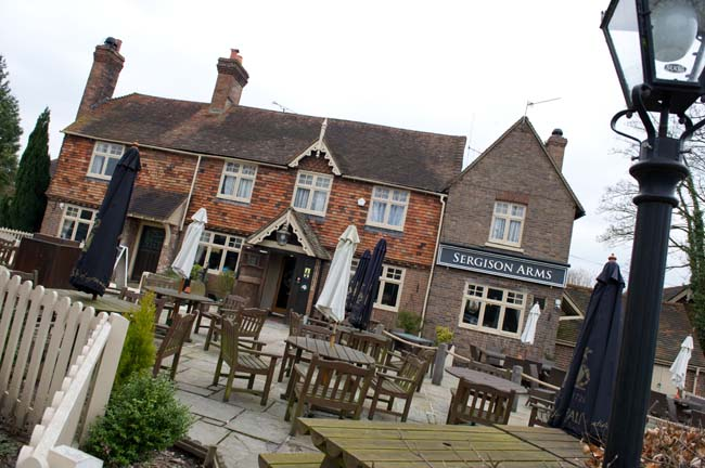 The Sergison Arms - West Sussex