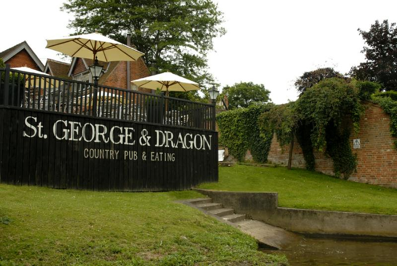 The St George & Dragon - Reading