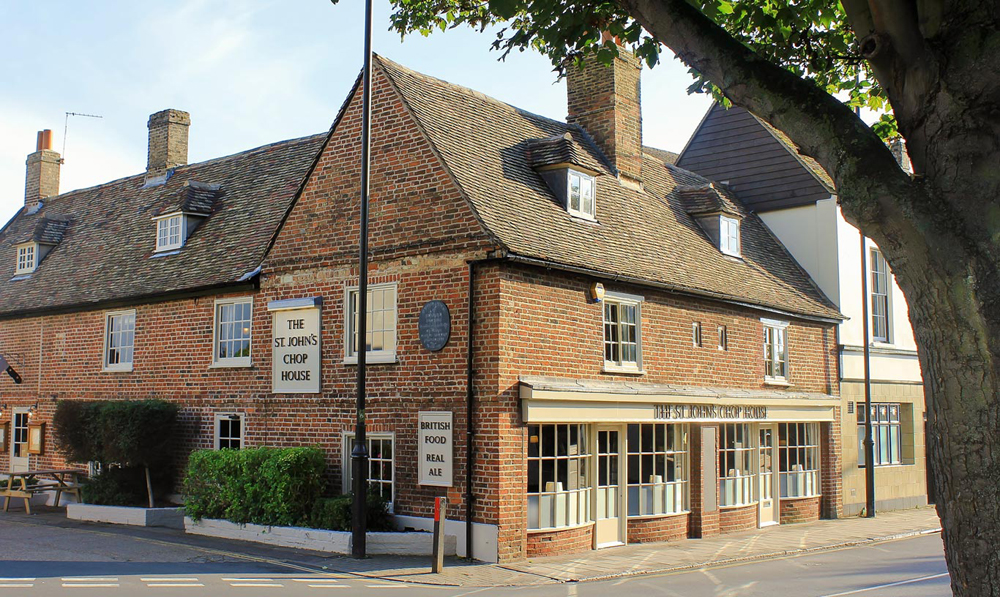The St John's Chop House - Cambridgeshire