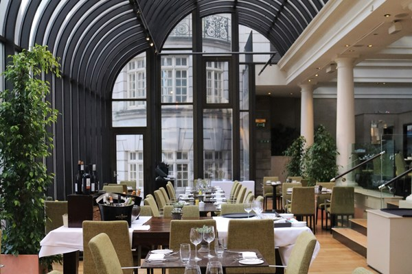 The Terrace Grill And Bar At Le Mérin Piccadilly London