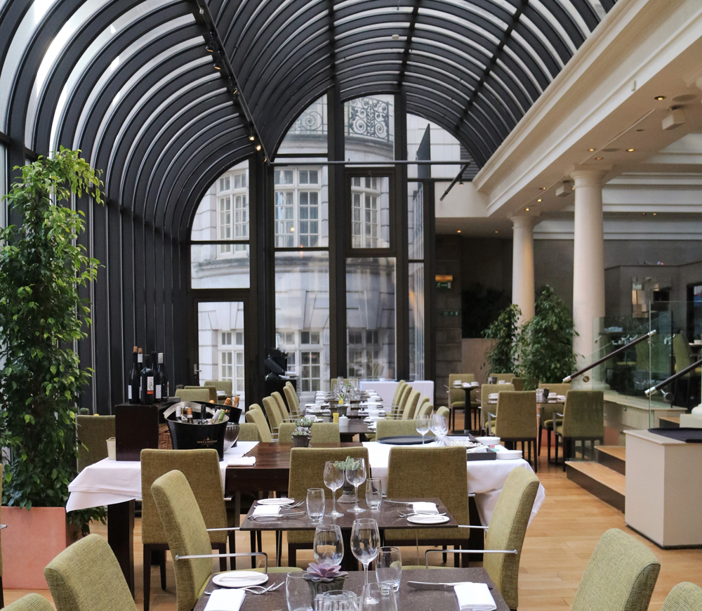 The Terrace Grill and Bar at Le Méridien Piccadilly - London