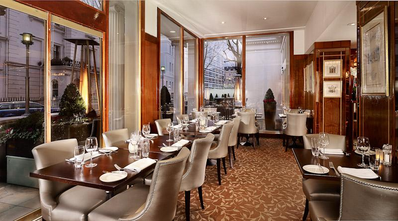 The Terrace Restaurant at The Blakemore Hyde Park Hotel - London