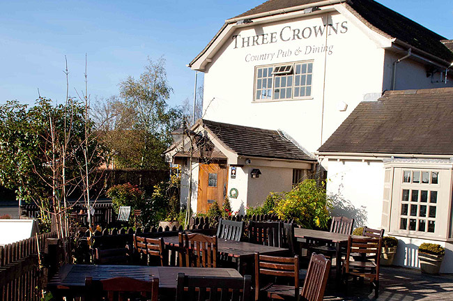 The Three Crowns - Staffordshire