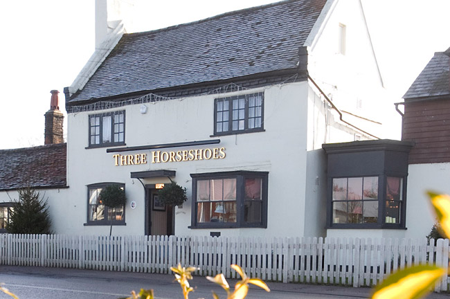 Reserve a table at The Three Horseshoes