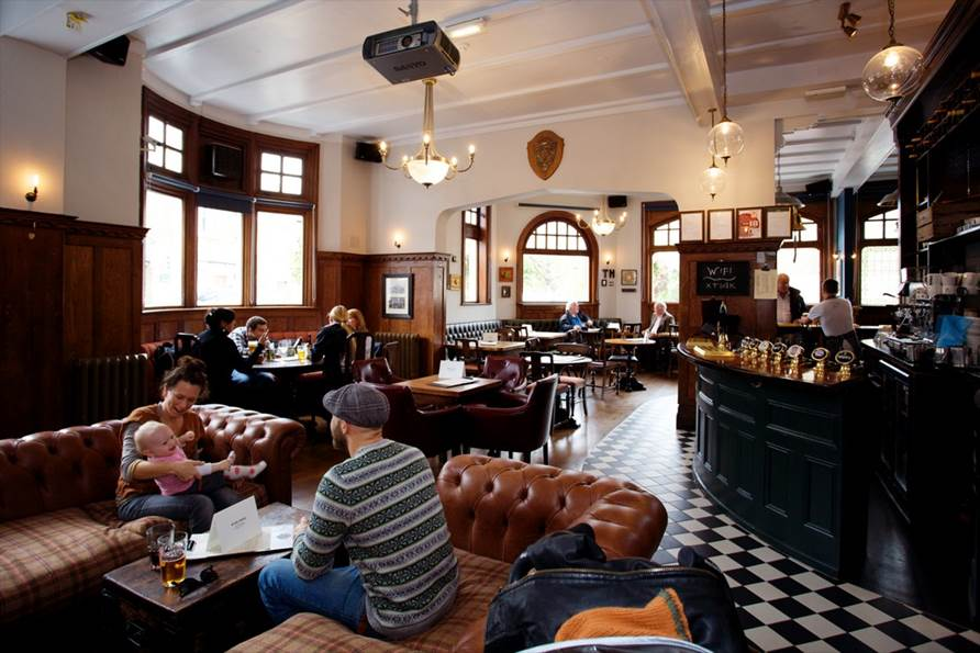 The Turk's Head - Yttre London