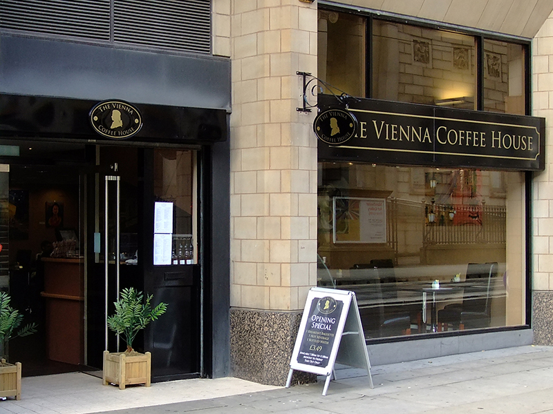 The Vienna Coffee House - Manchester