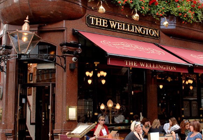 Reserve a table at The Wellington
