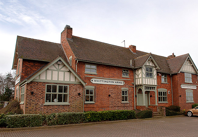 The Whittington Arms - Staffordshire