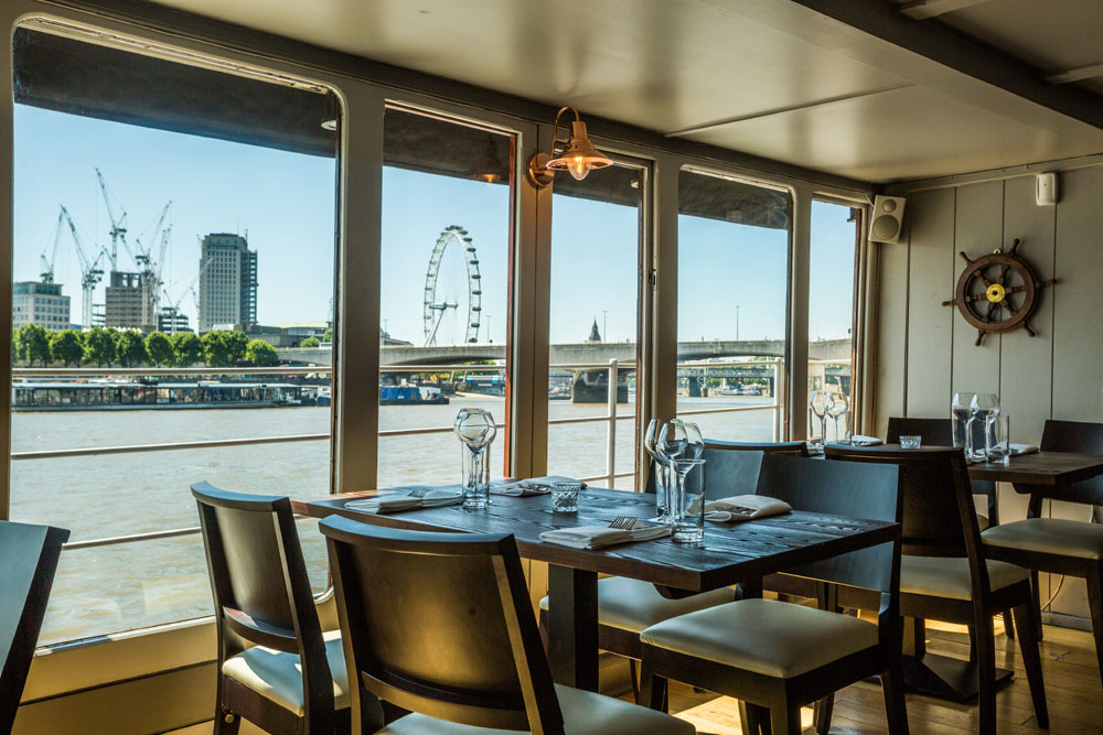 The Yacht London Victoria Embankment London Bookatable