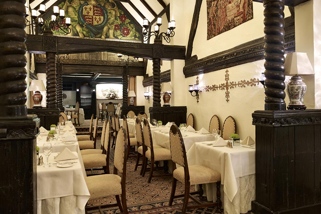 Tudors Restaurant at Mary Green Manor Hotel - Essex