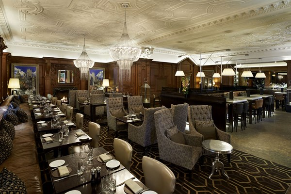 Great central bar and restaurant at the landmark hotel london great central bar and restaurant london sisterspd