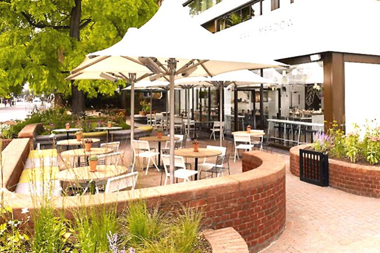 Urban meadow caf and bar notting hill london bookatable for 45 queensborough terrace bayswater london