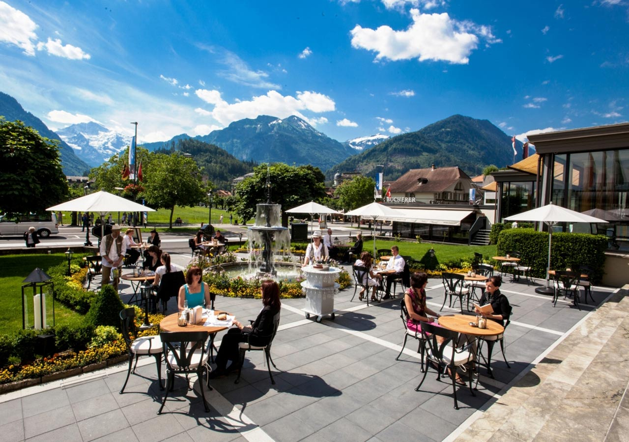 Victoria Bar & Terrasse - Interlaken