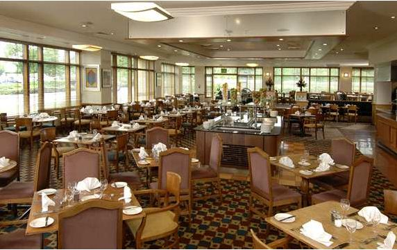 Reserve a table at Voyageurs Restaurant at Hilton Coventry
