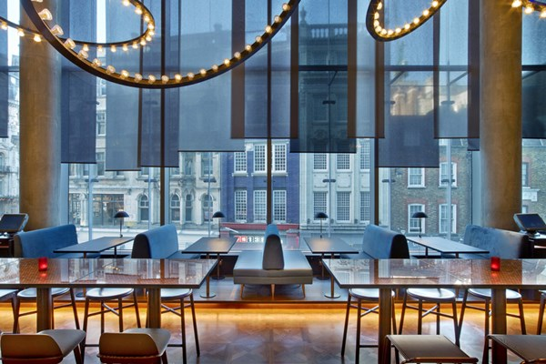 Restaurant At W Hotel Leicester Square London Bookatable