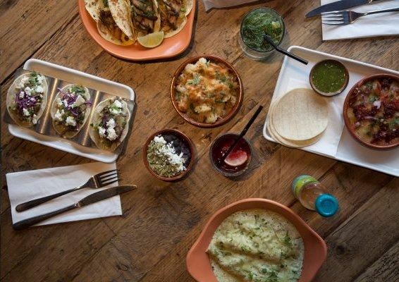 Reserve a table at Wahaca Liverpool Street