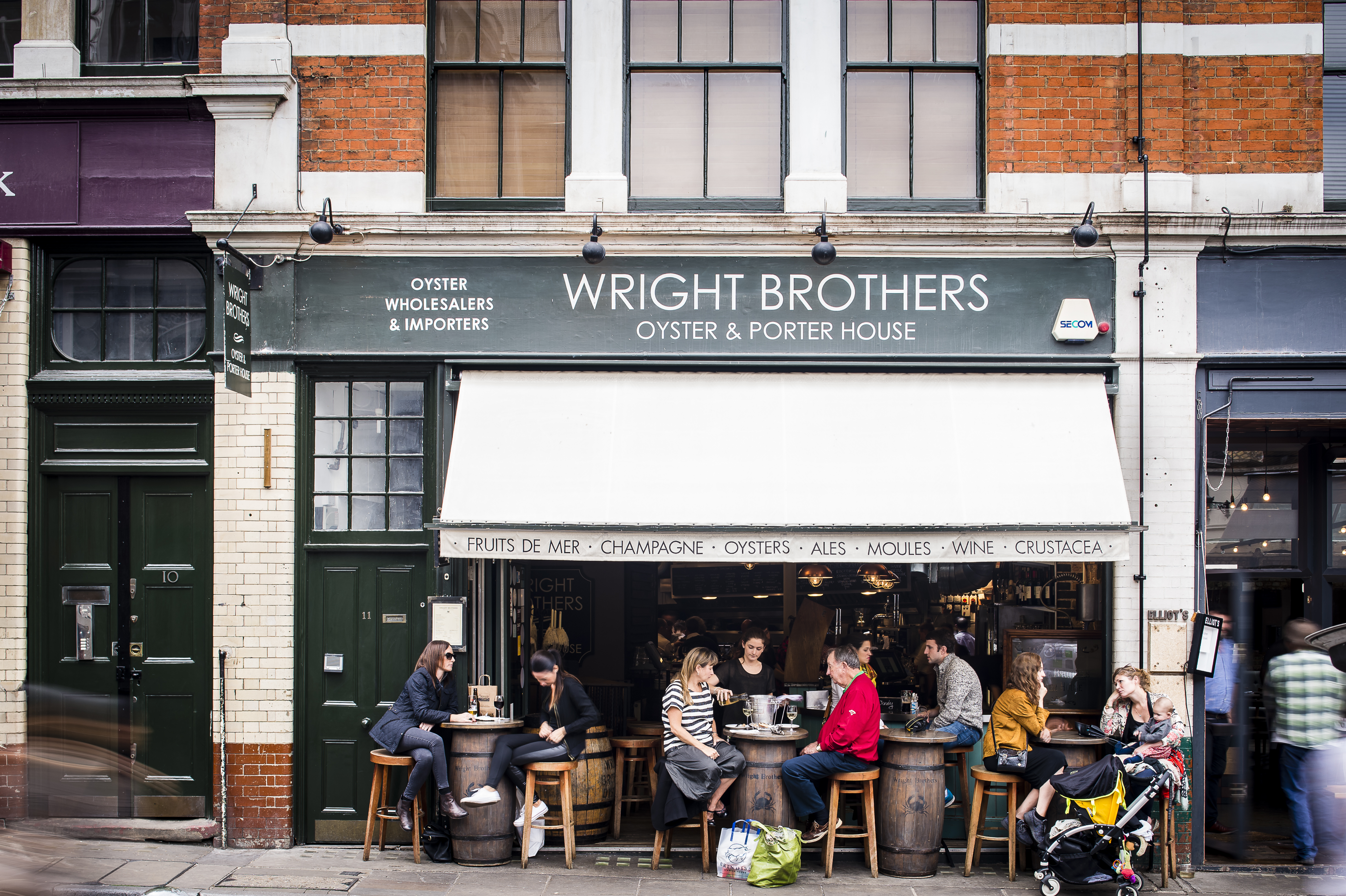 Wright Brothers - Borough Market - London
