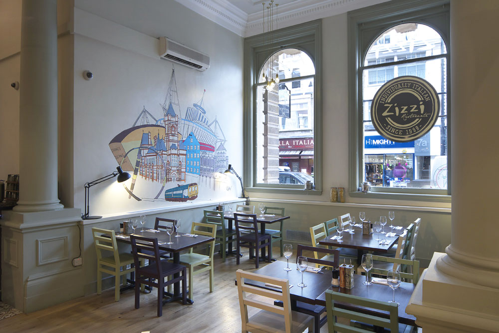 Reserve a table at Zizzi - Cardiff