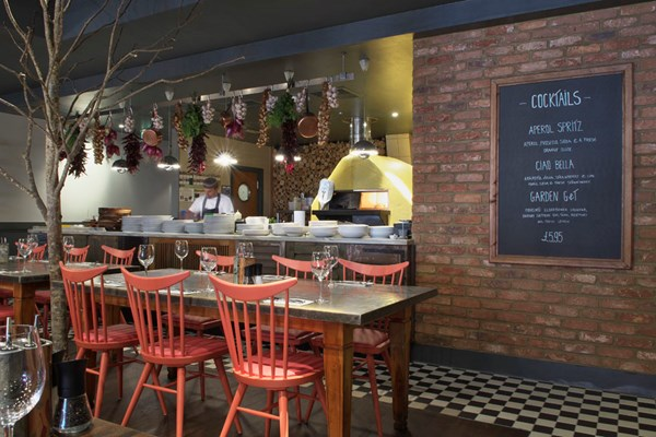 Zizzi - Charlotte Street - London