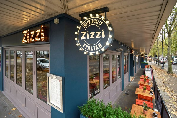 Restaurant Zizzi In Chiswick High Road