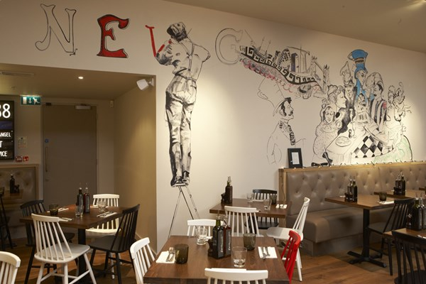 Zizzi one new change london book a table online - Book a restaurant table online ...
