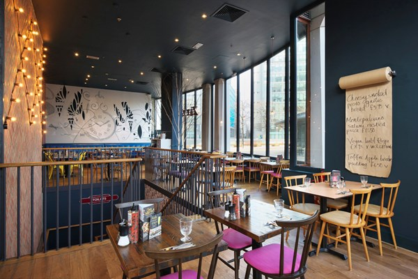 Zizzi - Paddington Central - London