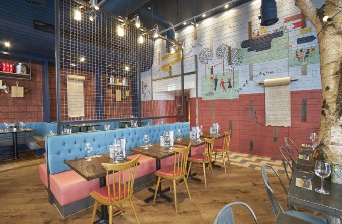 Zizzi - Westfield - London